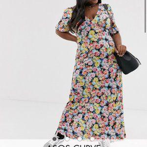 NWT ASOS Floral Maxi